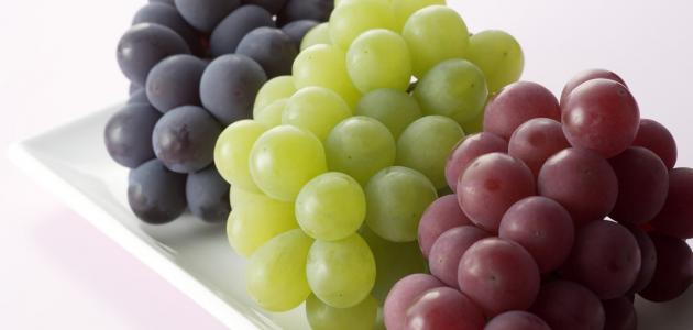 7 من مميزات تناول العنب للحامل