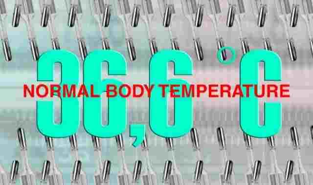 درجة حرارة الجسم الطبيعية للاطفال