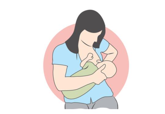 اوضاع الرضاعه الصحيحه لحديثي الولاده